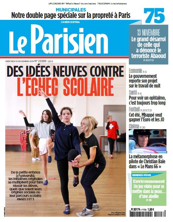 Le Parisien – 13.11.2019