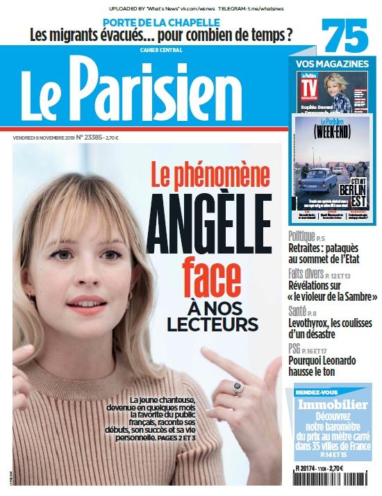 Le Parisien – 08.11.2019