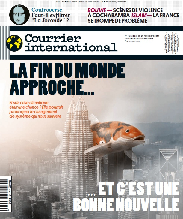 Courrier International – 21.11.2019