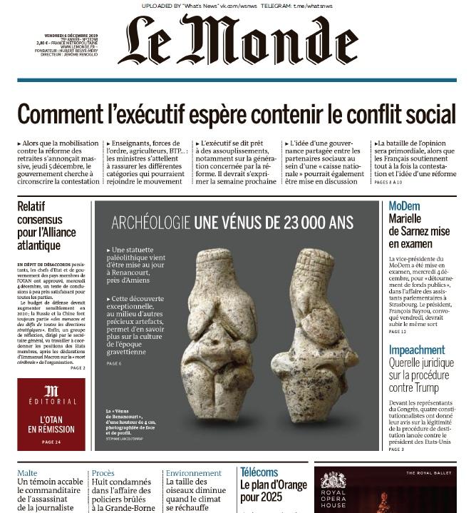 Le Monde – 06.12.2019