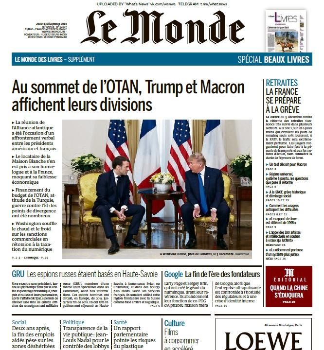 Le Monde – 05.12.2019