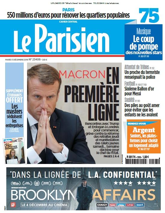 Le Parisien – 03.12.2019