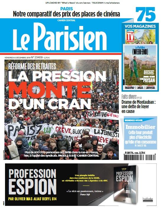 Le Parisien – 06.12.2019