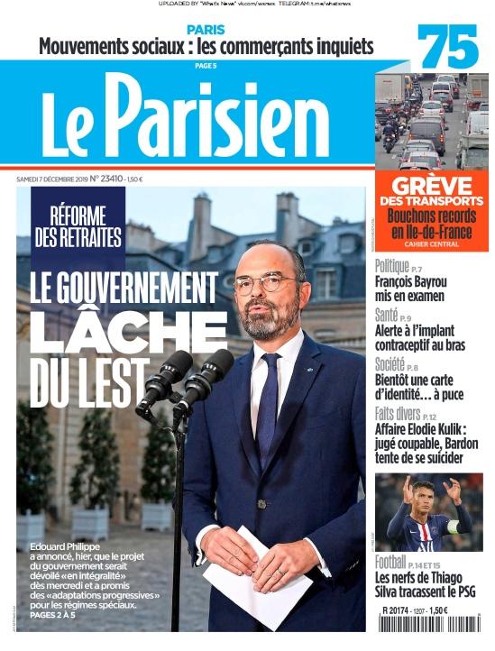 Le Parisien – 07.12.2019