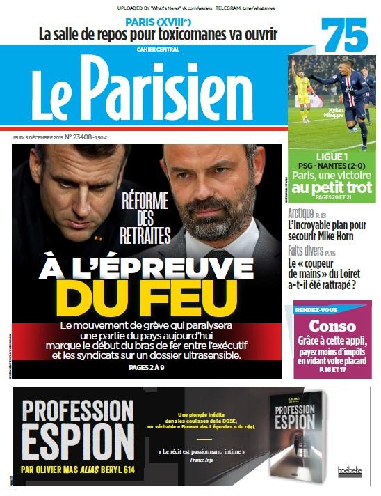 Le Parisien – 05.12.2019