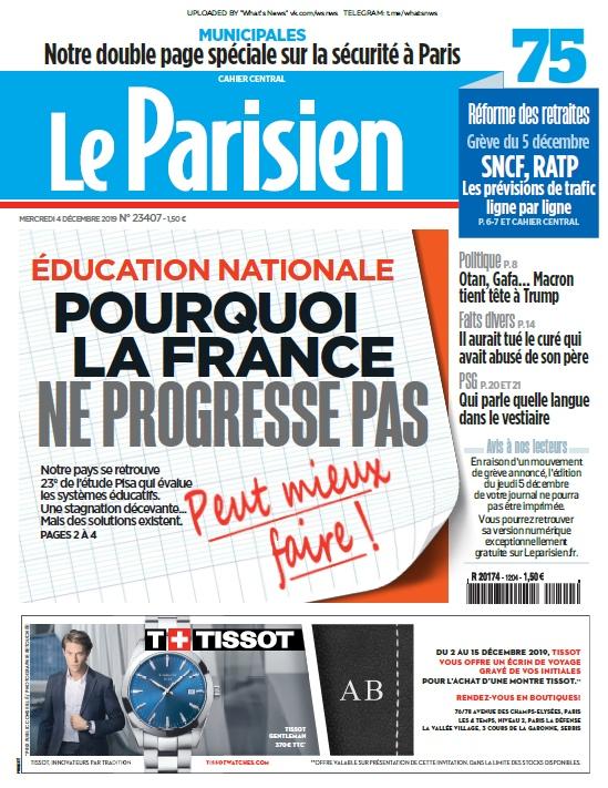 Le Parisien – 04.12.2019
