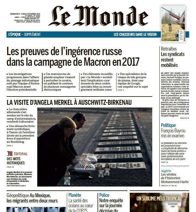 Le Monde – 08.12.2019