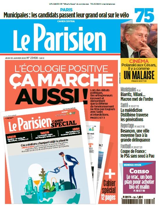 Le Parisien – 30.01.2020