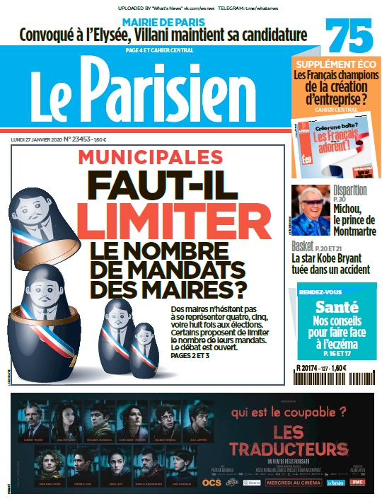 Le Parisien – 27.01.2020