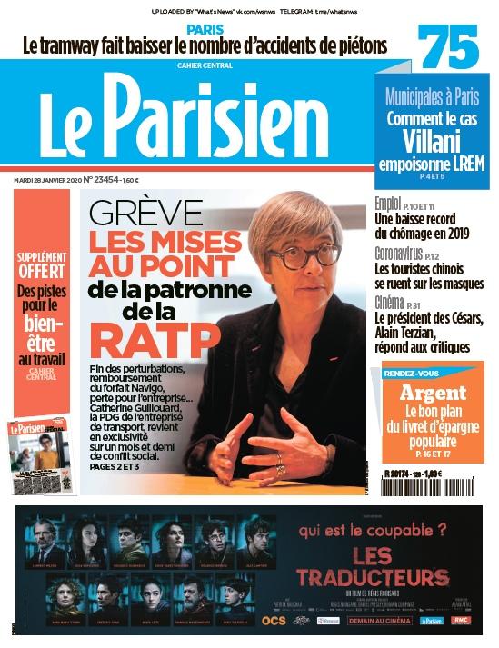 Le Parisien – 28.01.2020