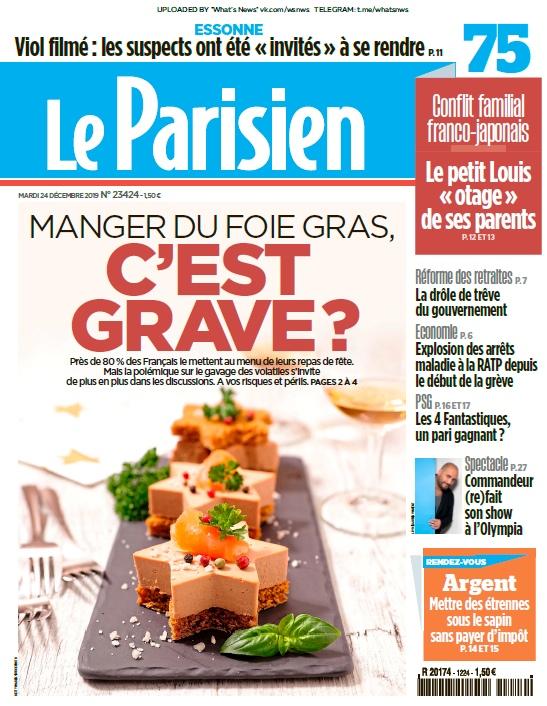 Libération – 24.12.2019