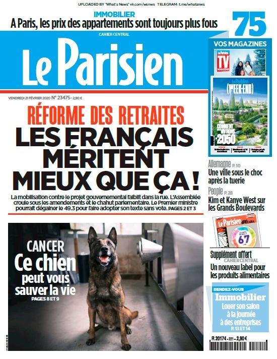 Le Parisien – 21.02.2020