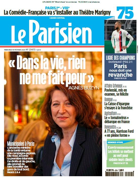 Le Parisien – 19.02.2020