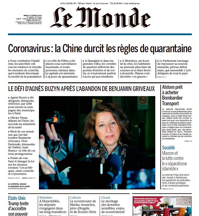 Le Monde – 18.02.2020