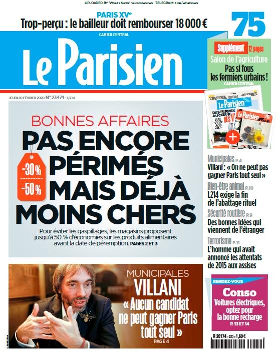 Le Parisien – 20.02.2020