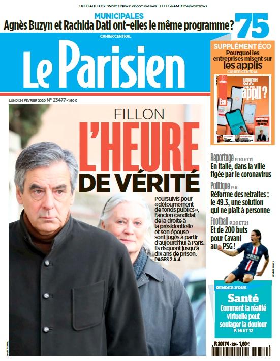 Le Parisien – 24.02.2020