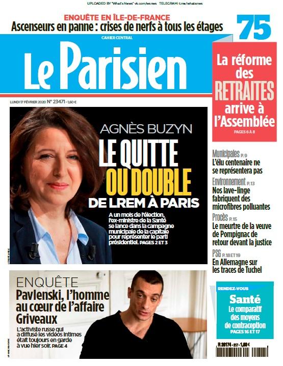 Le Parisien – 17.02.2020