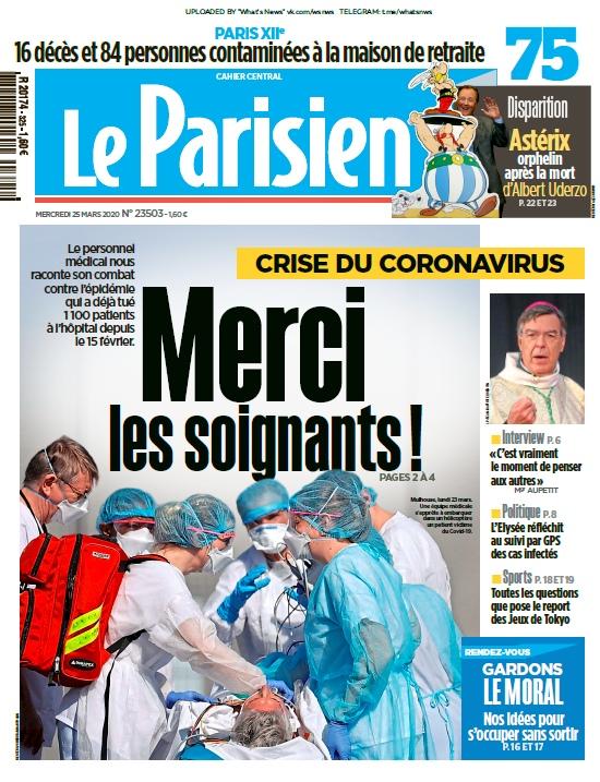 Le Parisien – 25.03.2020