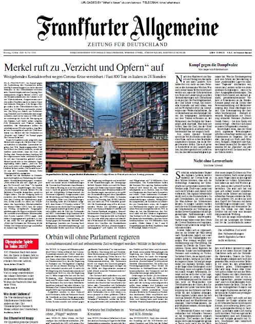 Le Monde – 23.03.2020