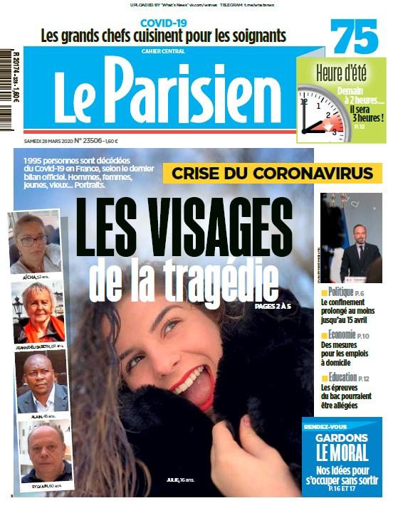 Le Parisien – 28.03.2020