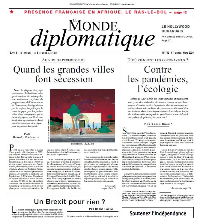 Le Monde Diplomatique – 03.2020