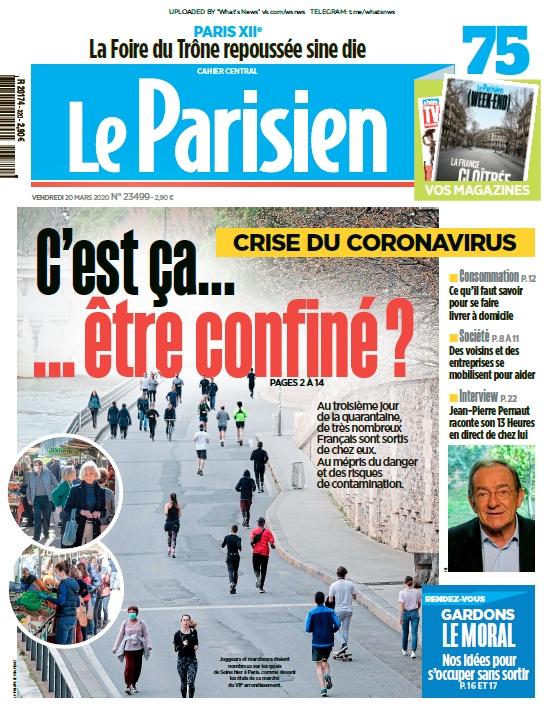 Le Parisien – 20.03.2020