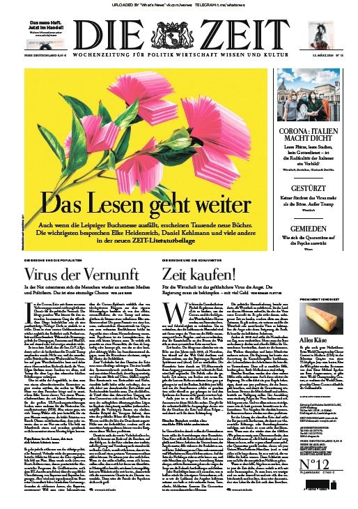 Die Zeit – 12.03.2020