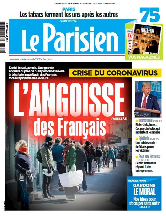 Le Parisien – 27.03.2020