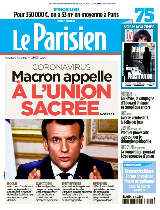 Le Parisien – 13.03.2020