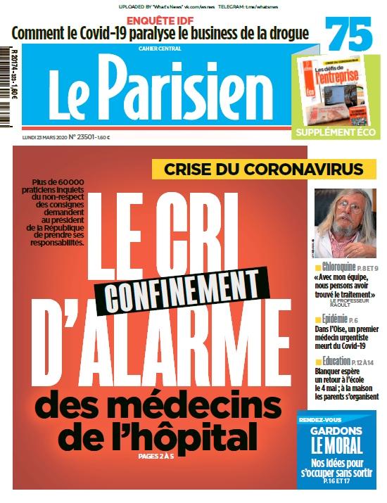 Le Parisien – 23.03.2020