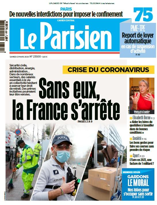 Le Parisien – 21.03.2020