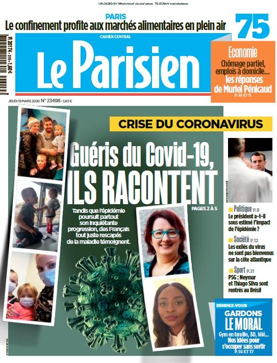 Le Parisien – 19.03.2020