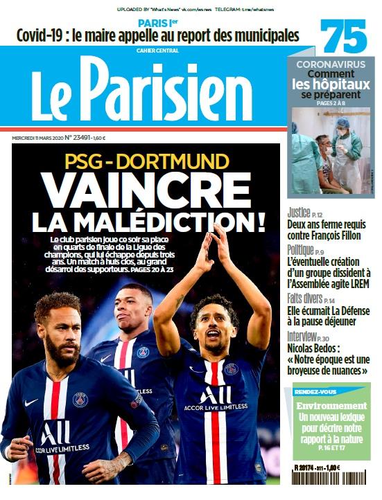 Le Parisien – 11.03.2020
