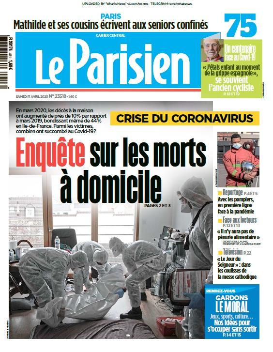Le Parisien – 11.04.2020
