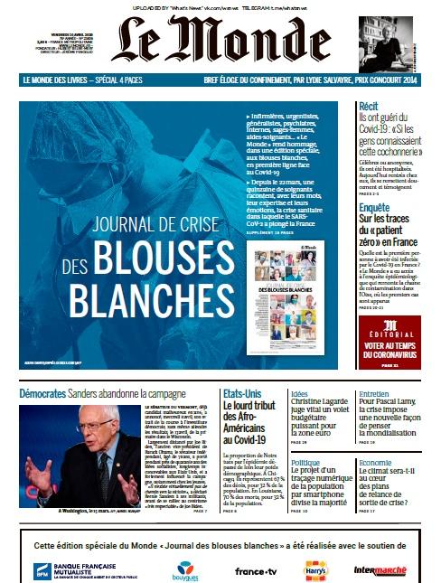 Le Monde – 10.04.2020