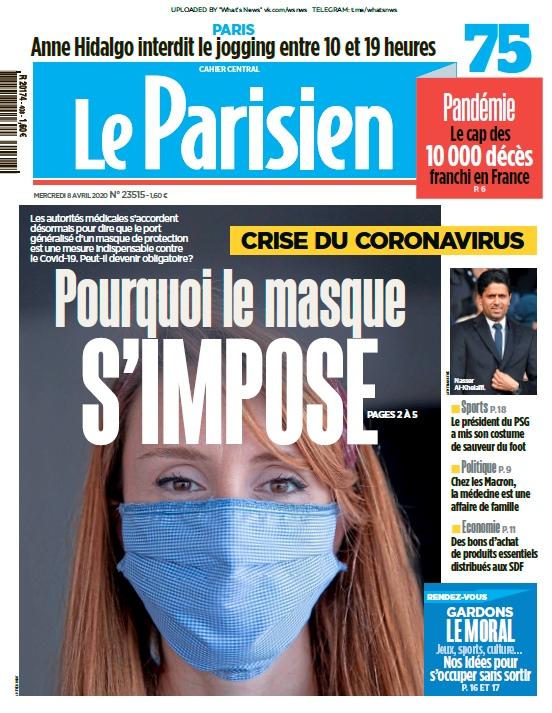 Le Parisien – 08.04.2020