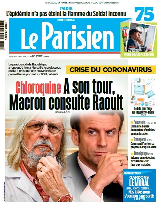 Le Parisien – 10.04.2020