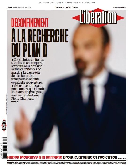 Libération – 27.04.2020