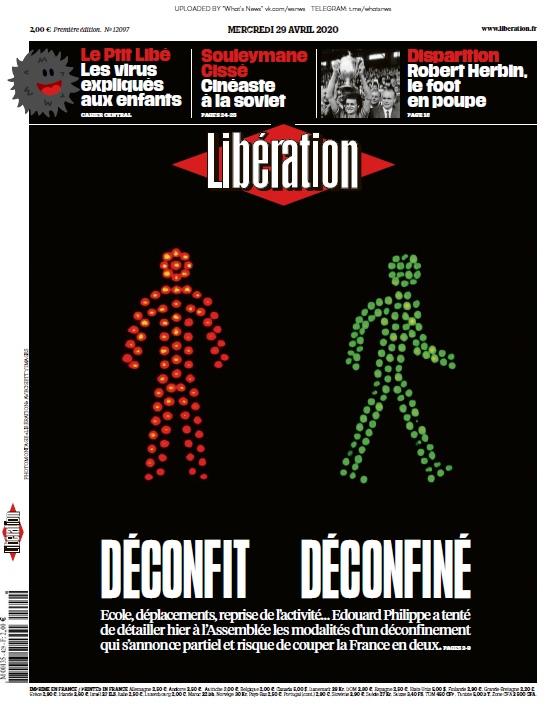 Libération – 29.04.2020