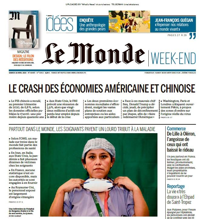 Le Monde – 18.04.2020