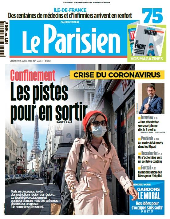 Le Parisien – 03.04.2020