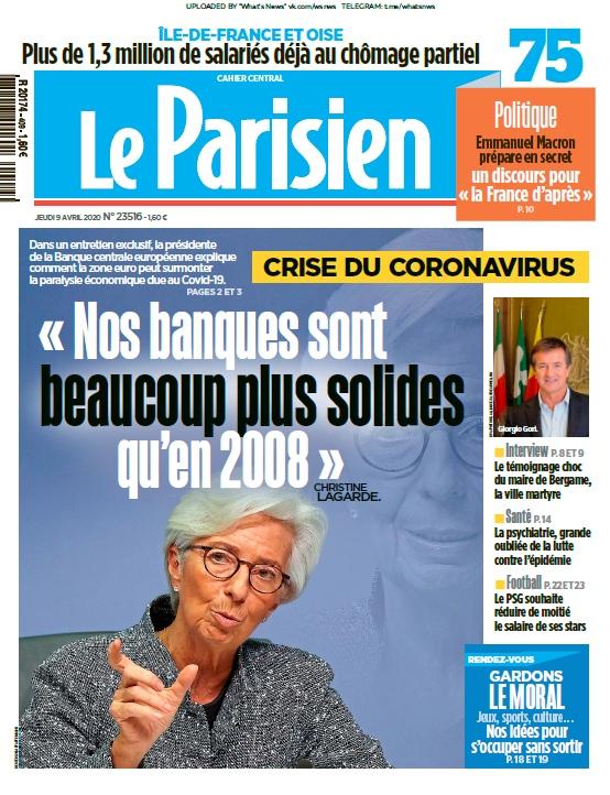 Le Parisien – 09.04.2020