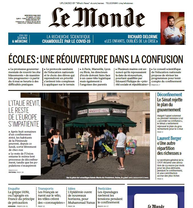 Le Monde – 06.05.2020