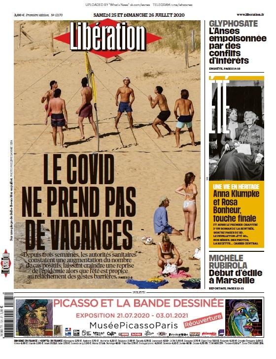 Libération – 25.07.2020