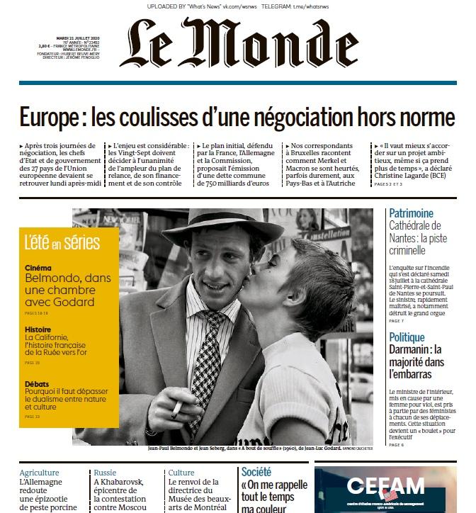 Le Monde – 21.07.2020
