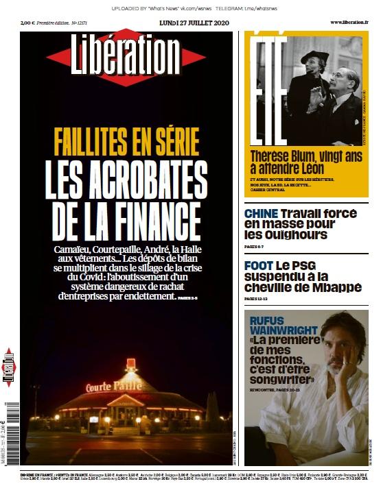 Libération – 27.07.2020