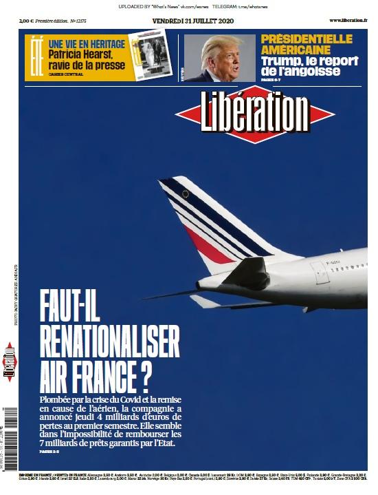Libération – 31.07.2020