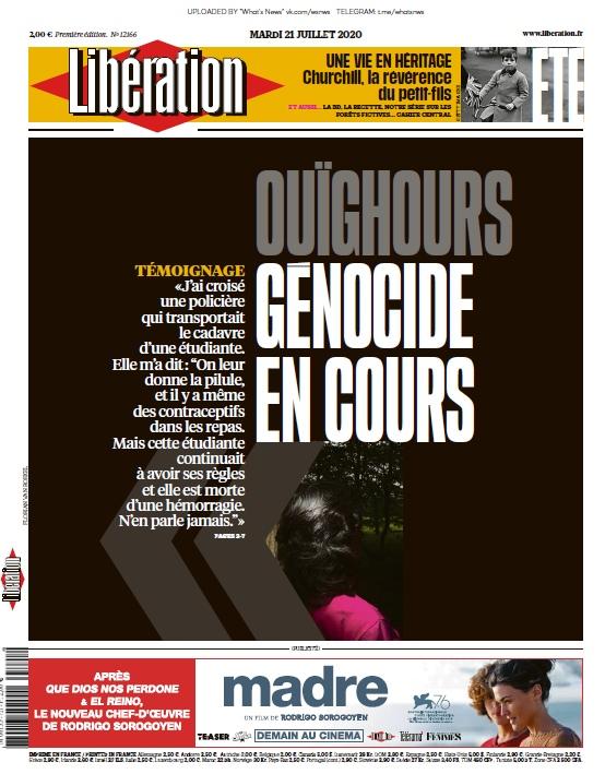 Libération – 21.07.2020
