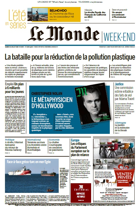 Le Monde – 25.07.2020