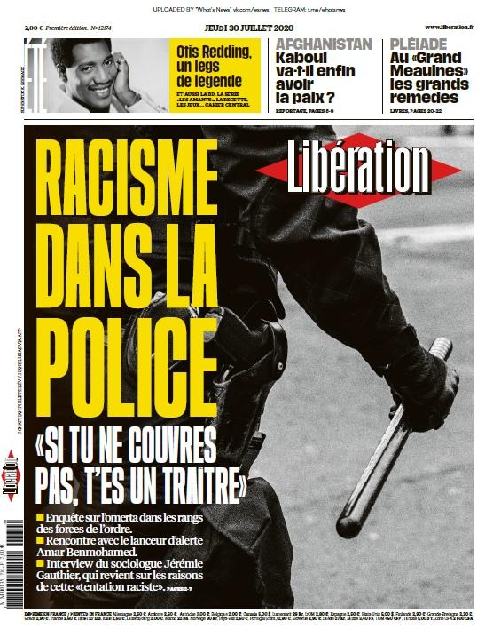 Libération – 30.07.2020